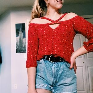 Cute flowery shirt